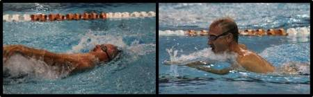 backstroke breaststroke
