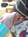 Olivia - in hospital nursery 2